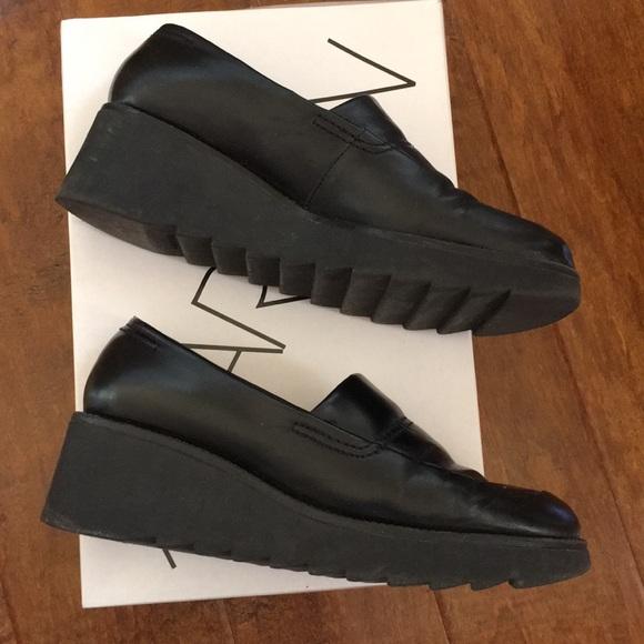 Markon Platform Wedge Loafers Shoes